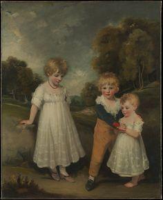 The Sackville Children John Hoppner  (British, London 1758–1810 London) Date: 1796 Medium: Oil on canvas