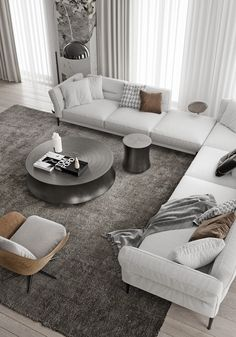 Magnificent Modern Marble Interior With Metallic Accents Magnificent Modern Marble Interior With Metallic Accents Accents Interior Magnificent Marble Metallic Modern Decor Interior Diy Homedecor Decoration Farmhouse Bedroom Living Room Interior, Home Living Room, Home Interior Design, Living Room Designs, Living Room Decor, Van Living, Interior Livingroom, Interior Designing, Decor Room