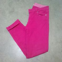 "Paige Hot Pink Peg Skinny Jeans Paige Jeans, size 28, in great condition! Peg Skinny style. Hot pink pants with front and back pockets. 15"" waist, 28"" inseam, 36"" length. Worn and washed many times. Some fading upon close inspection but still a vibrant pair of pants! Please ask any and all questions before purchasing. No trades. Make a reasonable offer. Thanks! Paige Jeans Jeans Skinny"