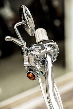 Harley handlebar - Shot by Fabio Riesemberg.