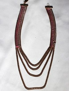 Tiered Chain Necklace | AllFreeJewelryMaking.com