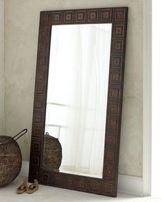 """""""Adel"""" Floor Mirror - Horchow"""