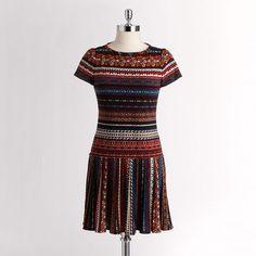 Cool knit dress