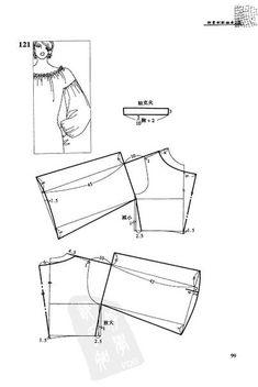 what is magyar sleeves Pattern Drafting Tutorials, Sewing Tutorials, Pattern Cutting, Pattern Making, Dress Sewing Patterns, Clothing Patterns, Bodice Pattern, Sleeve Pattern, Pants Pattern