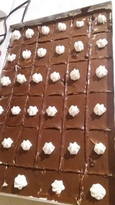 Greek Sweets, Greek Desserts, Party Desserts, Greek Recipes, Dessert Recipes, Chocolate Sweets, Love Chocolate, Cookbook Recipes, Cooking Recipes