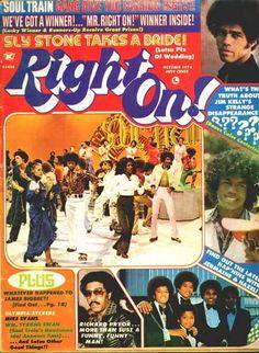 right on magazine covers   Right On Magazine Covers Jackson Five 1974