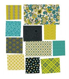 Chicopee Relish by Denyse Schmidt for Free Spirit Fabrics.