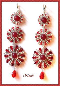 Красный-цвет любви...   biser.info - всё о бисере и бисерном творчестве