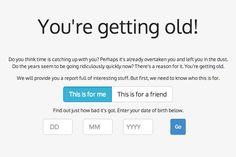E agora 1 site que vai fazer você se sentir velho como nunca antes na vida :-) - Blue Bus