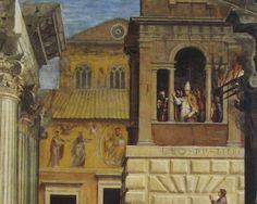 Raffaello e aiuti-Incendio del borgo(dettaglio)Stanze dell'incendio del borgo,Musei Vaticani