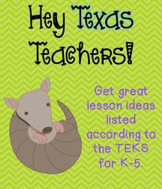 Texas Teachers Unite! What a great idea- I ended up going from site to site finding lots of great resources!
