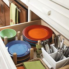 Organizing kitchen drawers :))  @organizedotcom #contest