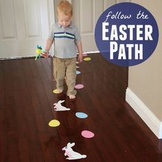 Toddler Approved!: Follow the Easter Path Toddler Activity