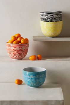 Etched Bowl | anthropologie