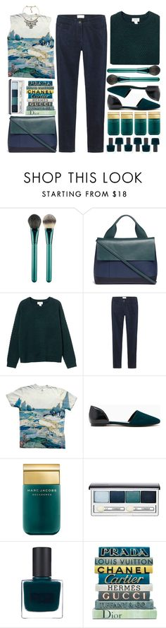 """""""its not us no more its just you & me"""" by monicanne ❤ liked on Polyvore featuring MAC Cosmetics, Marni, Monki, Toast, Marc Jacobs, Clinique, RGB, E. Lawrence, Ltd. and Nocturne"""