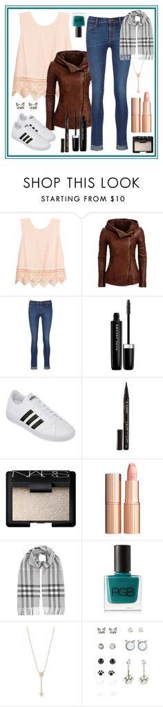 """A Walk In The Park"" by i-love-tennis ❤ liked on Polyvore featuring Lush Clothing, J Brand, Marc Jacobs, adidas, Smith & Cult, NARS Cosmetics, Charlotte Tilbury, Burberry, RGB and EF Collection"