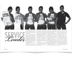 Royal Purple Yearbook Spreads by Joslyn Brown, via Behance