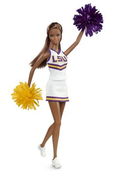 Louisiana State University Barbie® Doll (African American) | Barbie Collector  New barbies how cute are they though