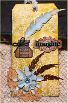 The Funkie Junkie: A Word using TH/Ranger, Sizzix and Stamper's Anonymous products; May 2014
