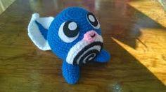 060 POLIWAG Pokemon Crochet Pattern, Crochet Patterns, Diy Crochet, Crochet Toys, Charmander, Pikachu, Kids Toys, Nerd, Sewing