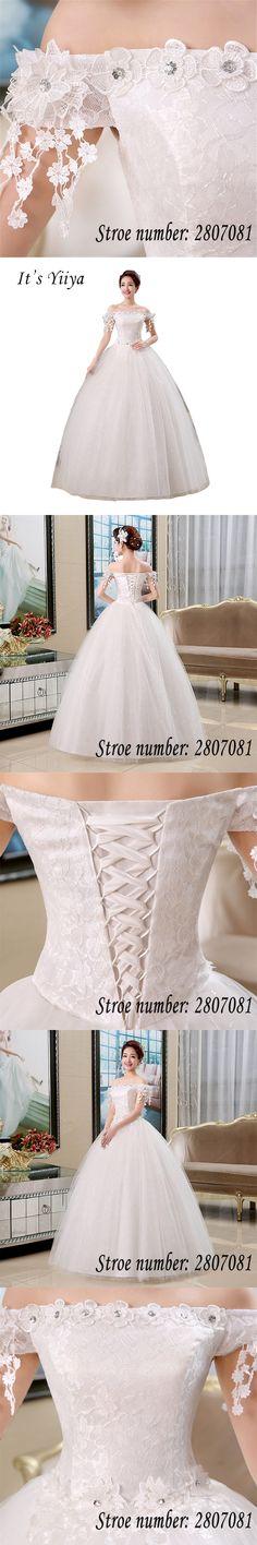 Lamya Plus Size Red Half Lace Sleeve Vintage V Neck Wedding Dress 2017 Sexy Cheap  Bride Gown Dresses Fashion robe de mariage  54286666d0da