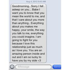 long cute goodmorning texts for your girlfriend - Google Search ...