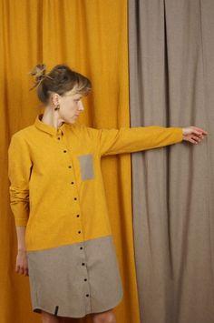 tunika SŁOŃCE - METR64 - Torby Nerki Plecaki... Sweaters, Fashion, Tunic, Fashion Styles, Sweater, Fashion Illustrations, Trendy Fashion, Sweatshirts, Pullover Sweaters
