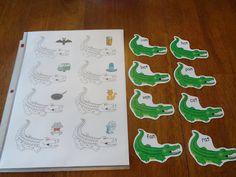 Izzie, Mac and Me: Alligator Fun word families