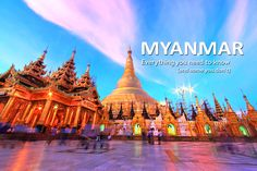 #Myanmar's allure is quite powerful. Take Bagan, for instance, where the sun sets over a sea of ancient temples and pagodas. Thousands dot the landscape, their peaked roofs and spires poking the sky like pins. Or Yangon, Myanmar's capital and home to the country's