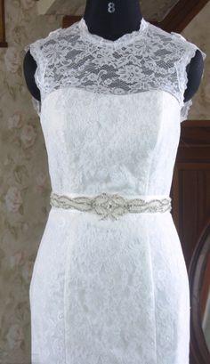 Vintage+ALine/Princess+Cathedral+Train+Satin+Wedding+by+lassdress,+$299.00