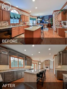 Before and After Kitchen Remodeling - Sebring Services