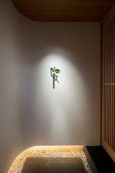 Asian Interior Design, Japanese Interior, Interior Garden, Interior Design Inspiration, Interior Styling, Interior Decorating, Japanese Style House, Japanese Modern, Tatami Room