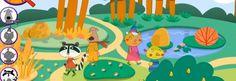 Monkimun, para que los niños aprendan inglés jugando al escondite