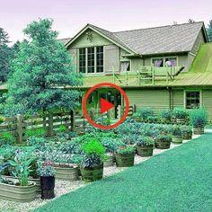 Diy Kräutergarten .Diy Kräutergarten Garden Planters, Kraut, Yard, Mansions, House Styles, Plants, Diy Herb Garden, Patio, Flower Planters