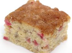 I made this and it is the best rhubarb cake I have ever made!