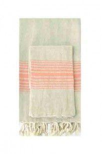 linen bath towel by Turkish-T's