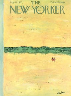 The New Yorker - Saturday, August 17, 1963 - Issue # 2009 - Vol. 39 - N° 26 - Cover by : Abe Bimbaum