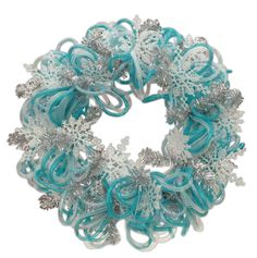Crafts Direct Blog: Geomesh Wreaths. Looks like something you would like for your door.