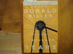 Book 1: A Million Miles in a Thousand Years by Donald Miller #emptyshelfchallenge