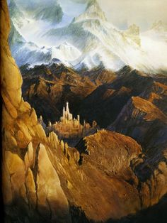 Tolkien - Attack on Gondolin, I love this type of artwork to complement one of the greatest writers of all time. #Tolkien #Art #Silmarillion