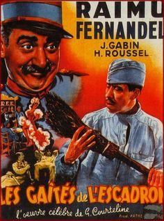 Les Gaîtés de l'escadron est un film français réalisé par Maurice Tourneur, sorti en 1932. En 1885, le train-train de l'escadron du 51e régiment de chasseurs à cheval, égayé par l'arrivée des réservistes, assombri par l'inspection du général, secoué par la désertion de deux hommes tyrannisés par le féroce adjudant Flick et amusé par de fortes têtes désopilantes.