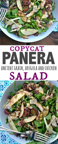 Copycat Panera Ancient Grain, Arugula and Chicken Salad – Make the Best of Everything