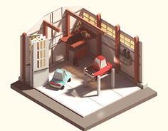 """다음 @Behance 프로젝트 확인: """"Garage"""" https://www.behance.net/gallery/29069139/Garage"""
