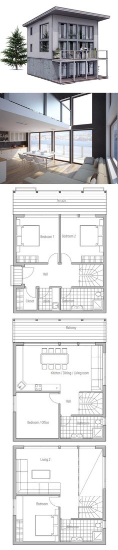 Duplex House Plan My_Houseu0027s Pinterest Duplex house plans - plan de maison simple