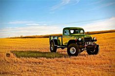 The Dodge Power Wagon was introduced in 1946. It was originally intended to be a 4×4 Military truck, but it was the first to be offered directly to the civilian population. The Power Wagon nameplate was discontinued in 1981.