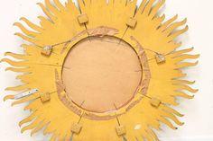 Monumental Midcentury Sunburst Mirror 4