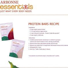 Arbonne protein bars!
