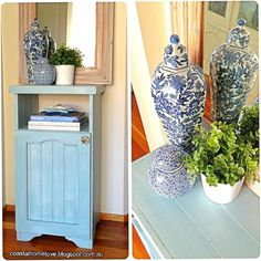The Features from the Anything Blue Friday party had furniture makeovers as the stars with some beautiful blue and white planters. The websites are listed under…