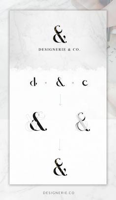 Transformation of Designerie & Co. Logo
