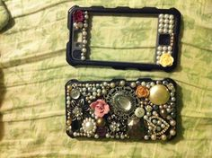 My first DIY collages cell phone case!